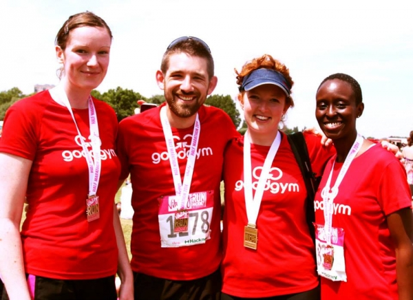 team goodgym post run
