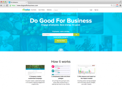 do good for business homepage