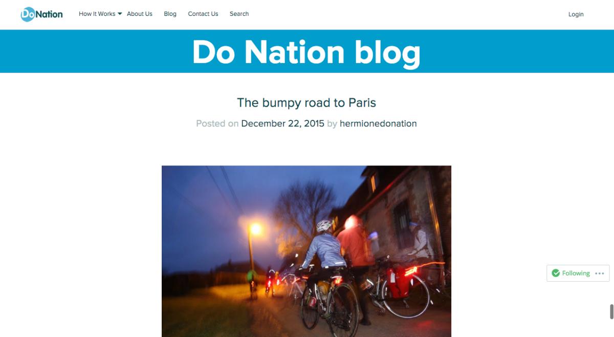 Do Nation blog