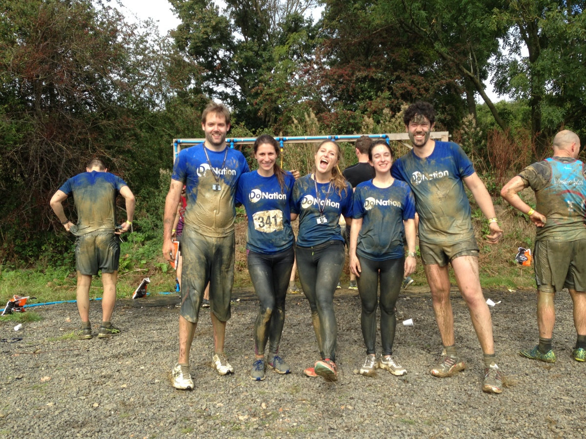 Do Nation team after the Devil Mud Run