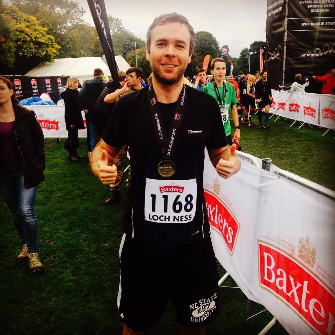 Iain Boyd loch ness marathon